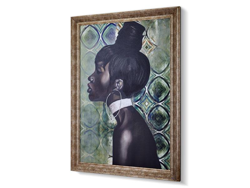 AFRICA CYRAH TABLO 105x135 CM