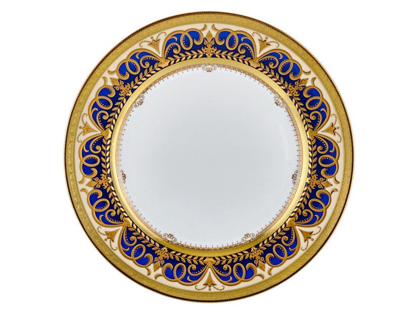 ARABESQUE BLUE GOLD 32 CM SUPLA