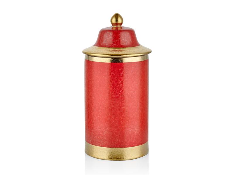 RED DRAGON SILINDIR BÜYÜK KÜP 20x20x45 CM