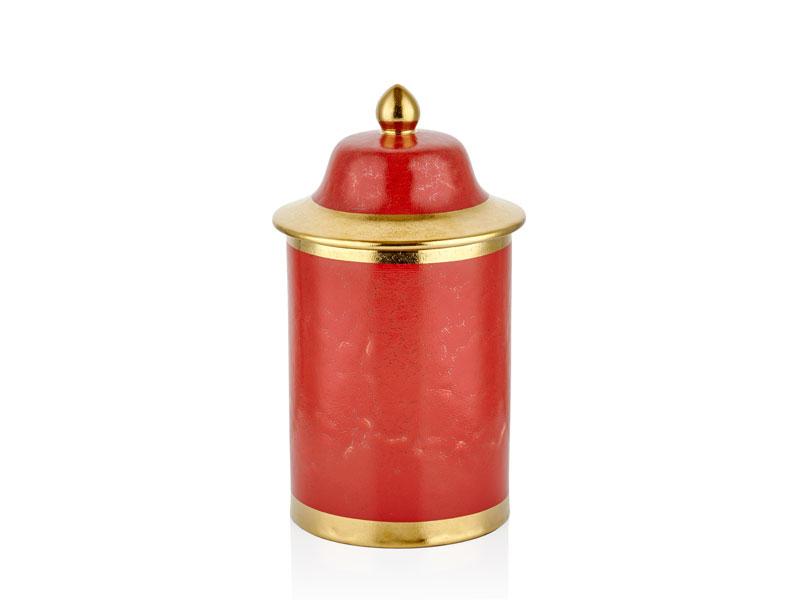 RED DRAGON SILINDIR KÜÇÜK KÜP 17x17x30 CM