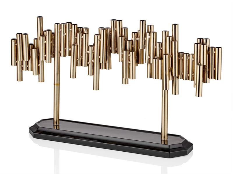 PIPE GOLD STANDLI MUMLUK 57x11x33 CM